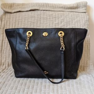 Coach Large Turnlock Chain Tote - Used Condition